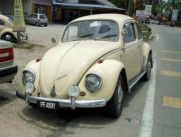 VW Beetle 1300 in Kota Bharu, Malaysia