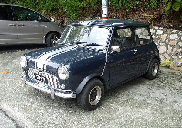 Mini Cooper in Malaysia (Kepong)