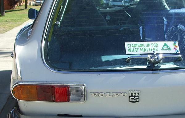 White Volvo 1800ES