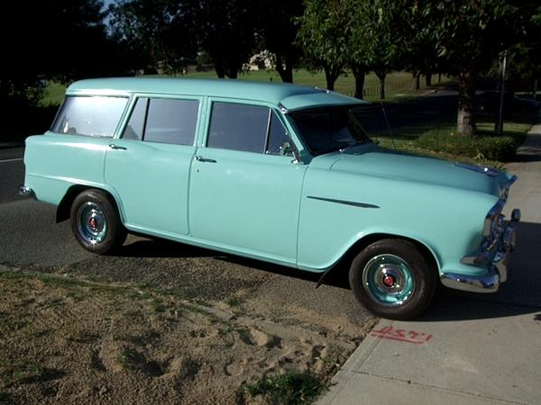 1959 FC Holden Standard Station Wagon in Levant Green