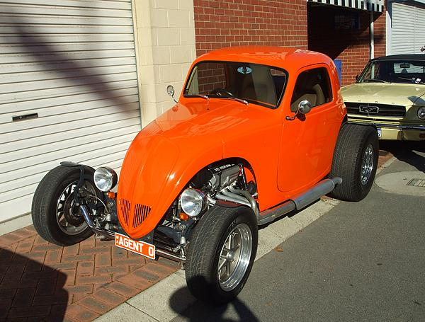 Agent Orange Hot Rod