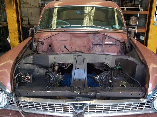 1960 Chrysler Royal being restored