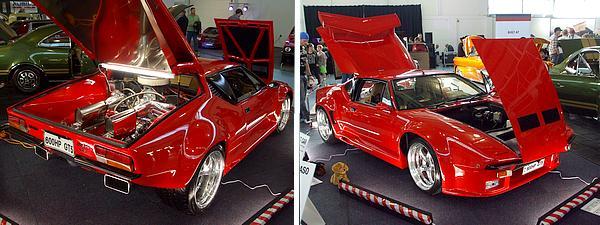 1971 GT5 Detomaso Pantera