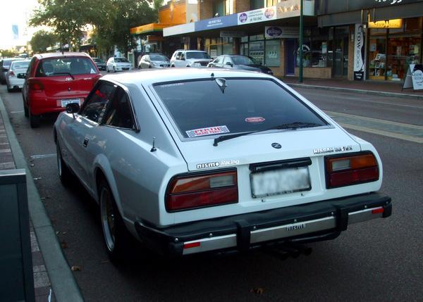 White Nissan 280ZX