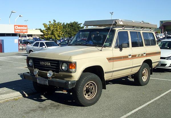1983 Toyota Landcruiser G Series
