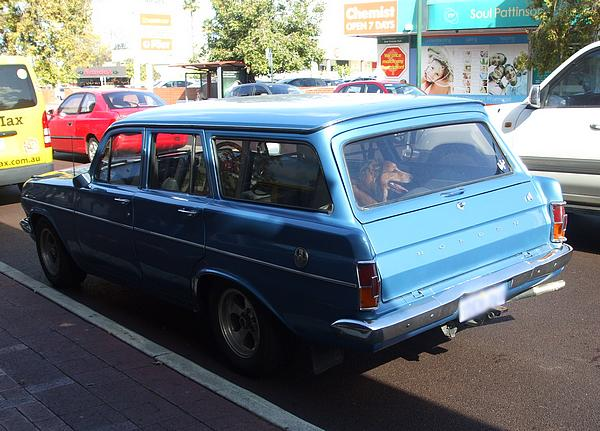 Blue 1964 Holden EH Wagon