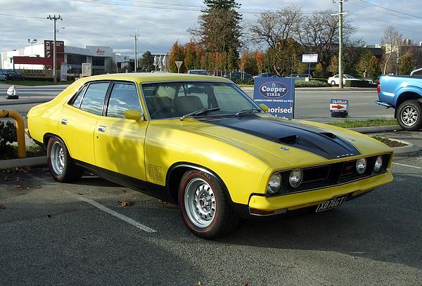 1976 XB Falcon GT 351 Yellow & Black