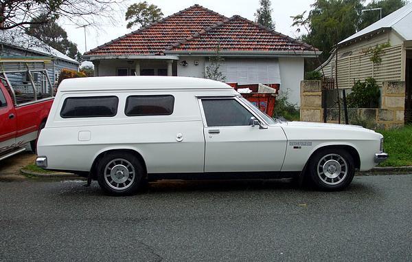 Holden WB 'Bushman' Van
