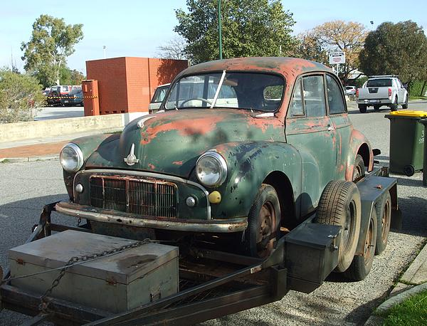 Morris Minor Split Screen Two Door Coupe Unrestored