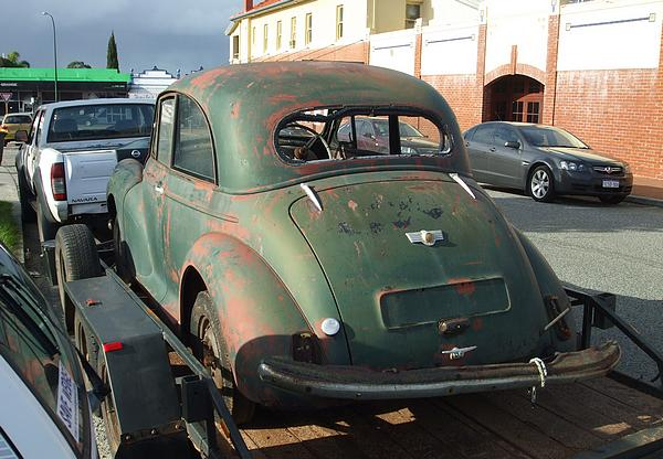 Morris Minor Split Screen, Two Door Coupe unrestored