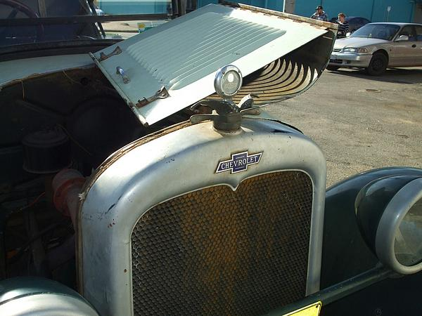1927 Chevrolet Tourer radiator