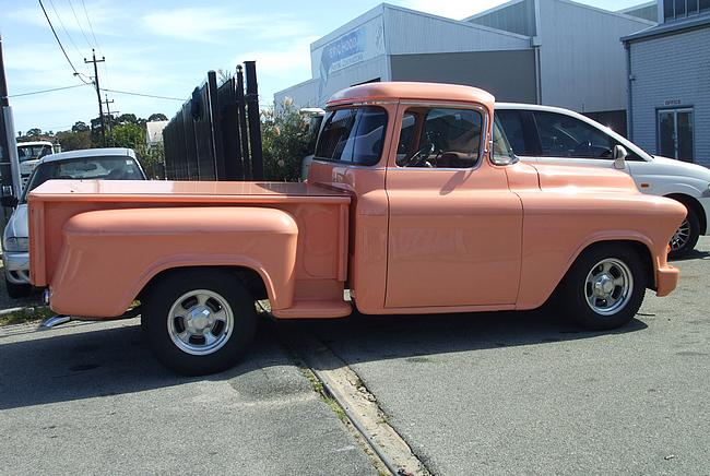 Restored 1956 Chevy Pick Up Truck