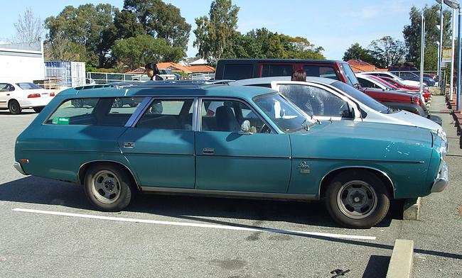Blue 1978 Valiant Regal Station Wagon