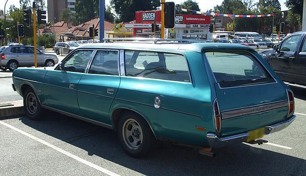 Blue 1978 Valiant Regal Station Wagon