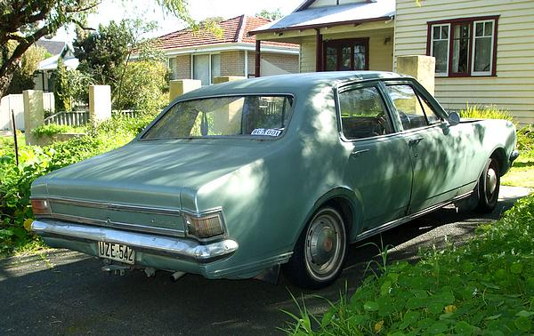 Unrestored Holden HG Kingswood
