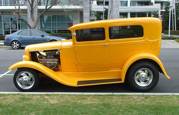 1930 Ford Model A Tudor Hot Rod