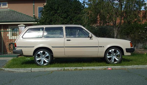 Cream Holden TF Gemini Wagon