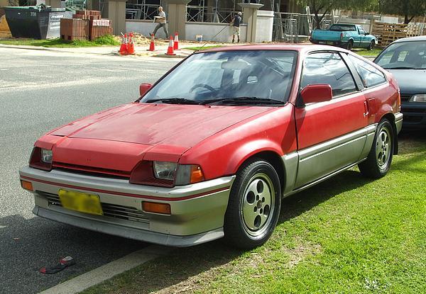 Red Honda Ballade 1.5i Sports