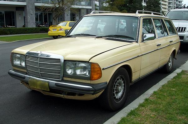 Mercedes 230TE Wagon