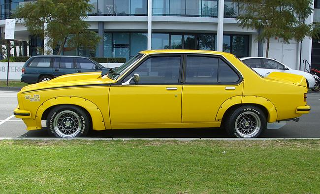 Yellow Torana SLR 5000