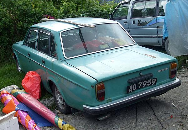 Blue Volvo 144 Malaysia