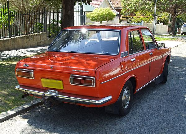Orange Datsun 1600 GL