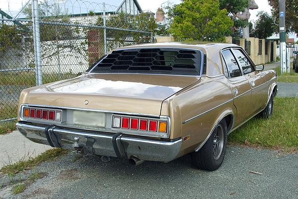 Gold 1977 ZH Fairlane