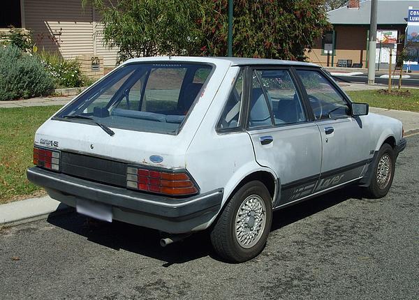 Silver Ford KB Laser