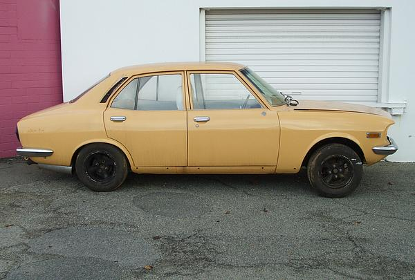 Mazda Capella restoration