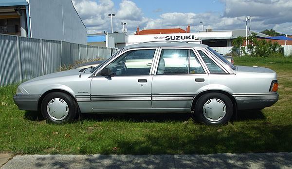 Silver Holden VL Commodore Executive: