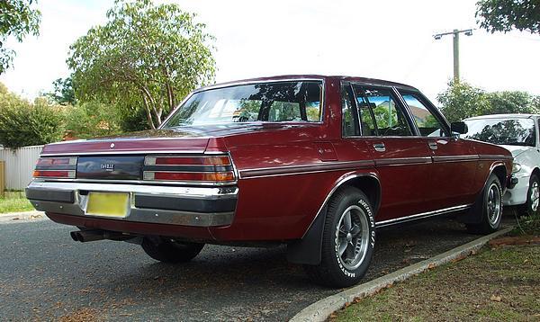 Holden WB Statesman DeVille Series II