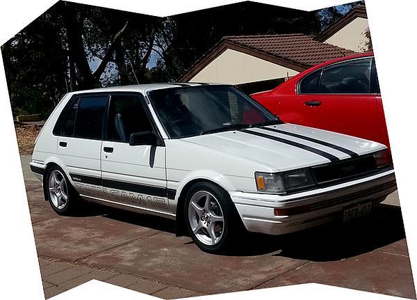 1986 Toyota AE82 Corolla Twincam Hatchback