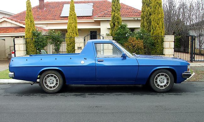 Blue WB Holden Ute