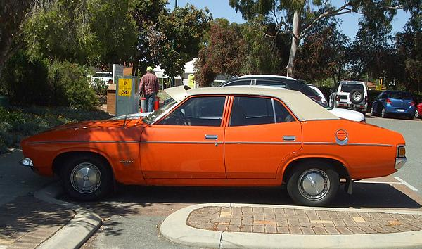 Orange Ford XB Falcon 500