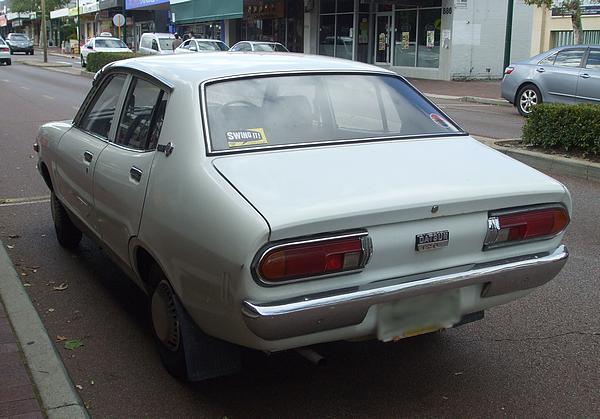 White Datsun 120Y