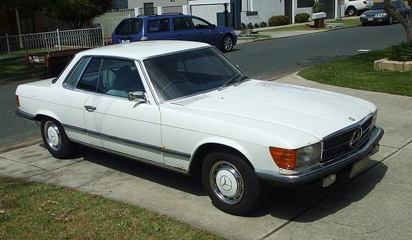 Mercedes 280SLC White