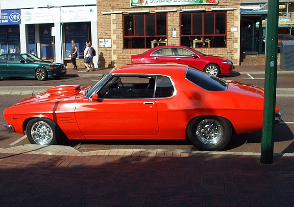 ... Red Holden 2 Door Monaro 350 & Holden 2 Door Monaro 350. Another thankyou god moment.