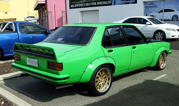 Green 1977 Holden Torana SLR5000