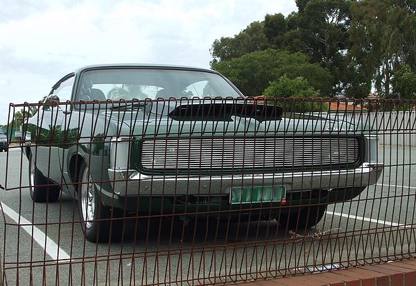 1971 VH Valiant Charger green