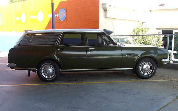 Holden HG Station Wagon