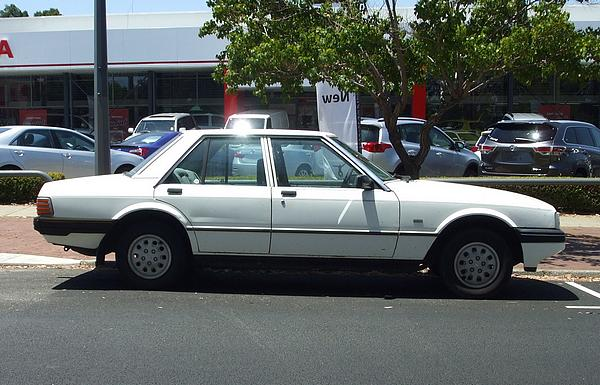 Ford XF Falcon GL White