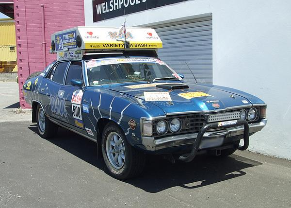 ZG Fairlane 500 Variety Club Bash entrant