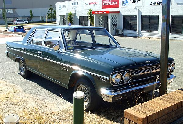 Green 1965 AMC Rambler Classic 660 V8