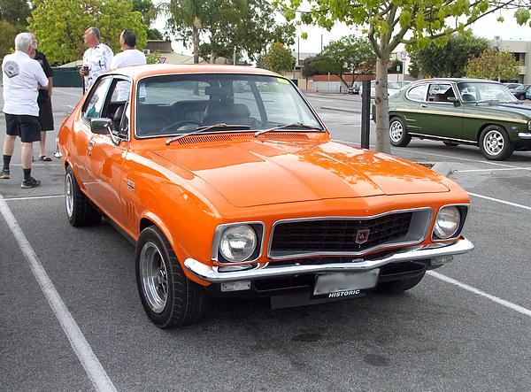 Orange Holden LJ Torana GTR XU1