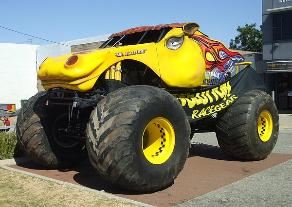 Outback Thunda Monster Truck
