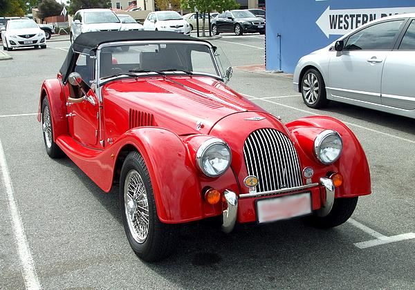 Red Morgan Roadster