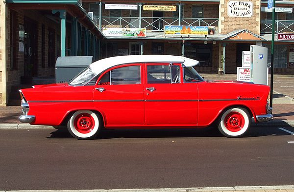 1962 Holden EK Special red