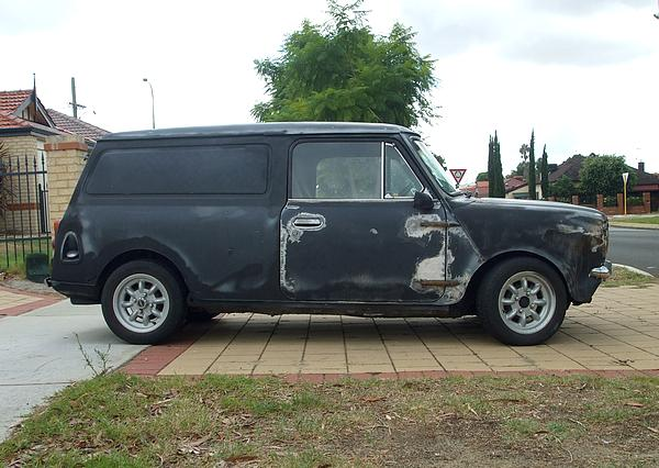 Leyland Mini Clubman Van.