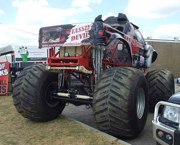Tassie Devil Monster Truck