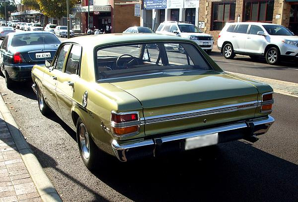 Green Ford XY Falcon 500 GS
